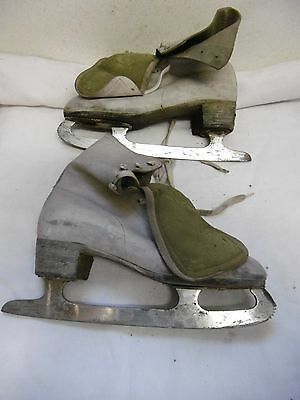 Patins A Glace Vintage Saber Made In Canada
