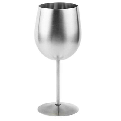 Stainless Steel Shatterproof Wine Mule Mug Cups Glasses Goblets Metal Wine Glass