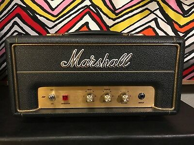 Marshall Head JMP1H 1970AVE 50th Anniversary 1 watt Plexi Mint