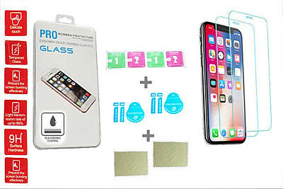 250 x WHOLESALE RETAIL PACK TEMPERED GLASS SCREEN PROTECTORS IPHONES + SAMSUNG