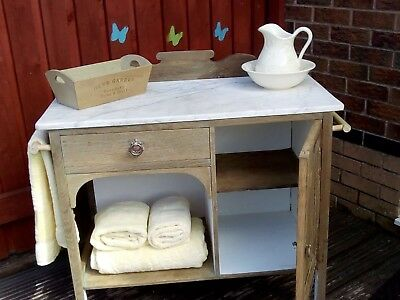 Victorian Vintage Wash Stand Upcycled