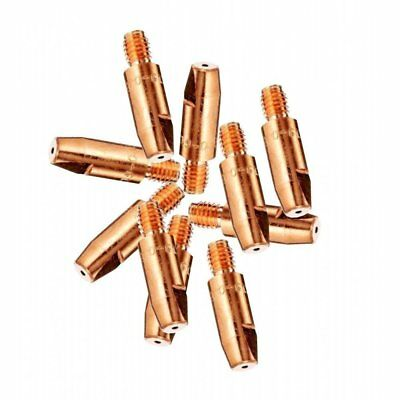 10 X 1.0mm Mig Euro Torch Contact Tips For MB15 MB25 MB36 Welding 10 Pack