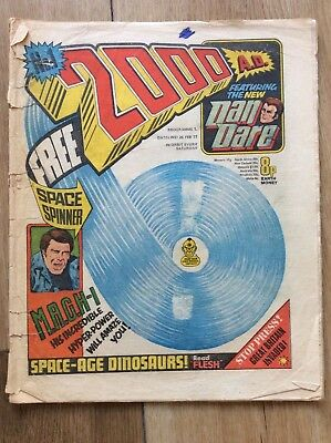 2000ad comic No. 1