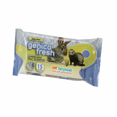 Accessori roditori Ferplast GENICO FRESH 15 SMALL PETS salviette umidificate