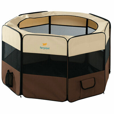 Box in nylon ripiegabile recinto per cane cani Ferplast HOLIDAY PARK