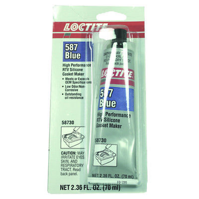Loctite Adhesive/Sealant High Temp 70ml Tube Blue 58730