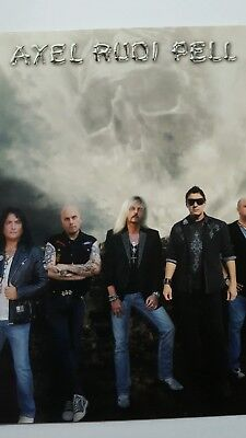 Axel Rudi Pell Release Karte INTO THE STORM 4 Stk.