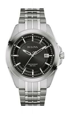Bulova Men's Quartz Stainless Steel Dress Watch (Model: 96B252)