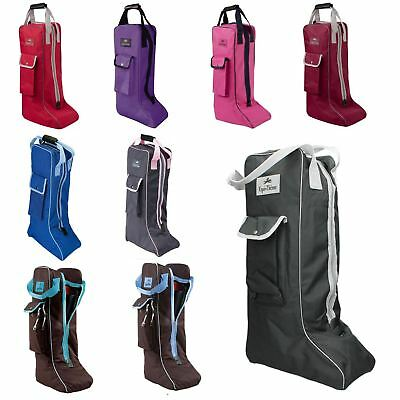 Equi-Theme Pony Horse Riding Stable Yard Event Show Travel Protection Boots Bag