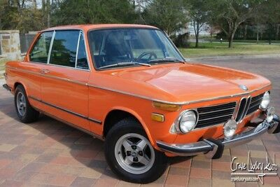 1973 BMW 2002  BMW 2002 4-speed orange rare Crave Luxury Auto 281-651-2101