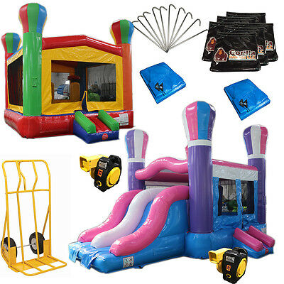 Bounce House Startup Package #2 Commercial Grade, Inflatable
