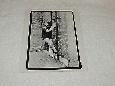 Jerry Garcia - Climbing a Ladder and Smoking - 8 x 10 Original Print - Ex-Rare!!