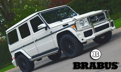 "2002 Mercedes-Benz G-Class G500 (G63 BRABUS PKG) G-500, with BRABUS G63 Package, 20"" Wheels,  88K, Clean, GREAT Deal !!!"