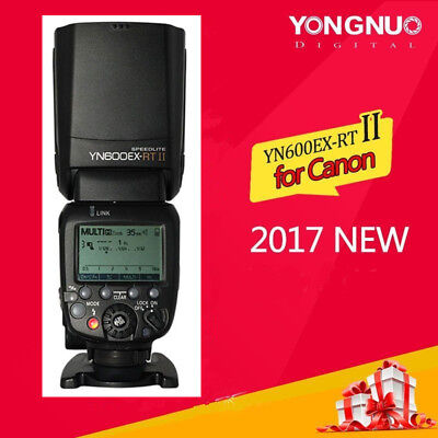 Yongnuo YN600EX-RT II Wireless TTL Master Flash Speedlite Unit for Canon Camera