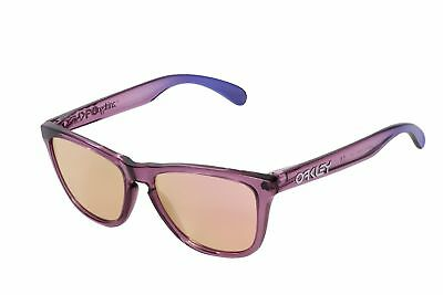 65ccb8e6988 NEW Oakley Sunglasses OO9013-73 Frogskins Alpine Violet Frame Pink Iridium  Lens