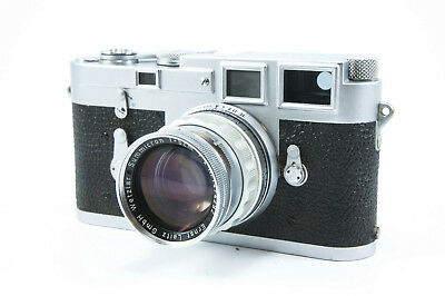 **Very Good, Tested** Leica M3 Double-Stroke with Summicron 5cm f/2 (Rigid)
