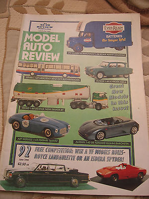 Model Auto Review 92 June 1995 Diecast & Toy Vehicles