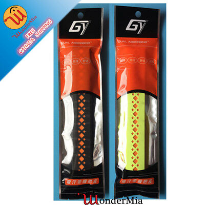 NEW 2pcs Antislip Absorbing Tennis Badminton Grip [DUAL COLOR] (10 COLOR) CA