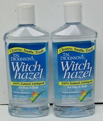 New Lot of 2 Dickinson Brands, Witch Hazel, For Face & Body, 16 fl oz (473 ml)