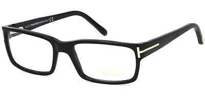 Tom Ford Optical Men's Black Eyeglasses Frames FT5013 0B5 - Made In Italy