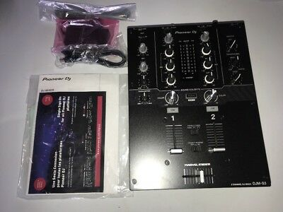 Pioneer DJM-S3 2-Channel Scratch Mixer for Serato DJ