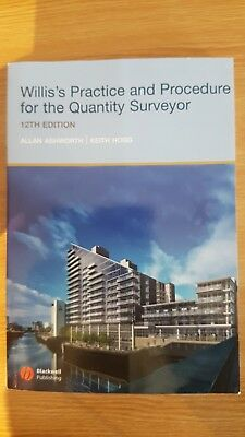 Willis's Practice and Procedure for the Quantity Surveyor, Allan Ashworth, Keith