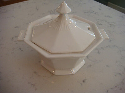 Vintage Independence Ironstone Gravy White