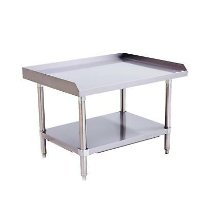 "Atosa ATSE-2836 MixRite 36""x28"" Stainless Steel Equipment Stand"