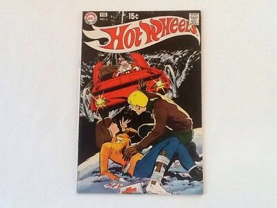 Hot Wheels v1 #6 DC 1971 VG Last Issue! Neal Adams Killer Santa cover! Toy cars