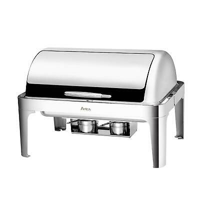 Atosa AT61363-1 MixRite 8.5 qt Stainless Steel Economy Oblong Chafing Dish