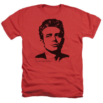 James Dean DEAN Licensed Adult Heather T-Shirt All Sizes