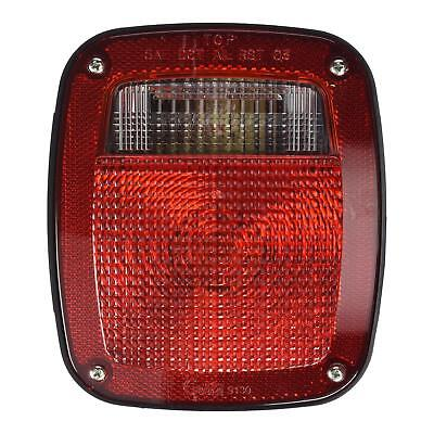 Grote 52602 - Red Torsion Mount Two-Stud Dodge Stop Tail Turn Light