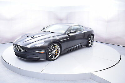 2012 Aston Martin DBS in Black with only 8,712 miles 2012 ASTON MARTIN DBS COUPE IN BLACK WITH TAN INTERIOR LOW MILES