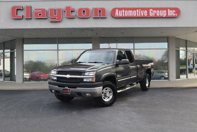 "Chevrolet Silverado 2500HD Ext Cab 157.5"" WB 4WD LT 2003 Chevrolet Silverado 2500HD 6.6L Duramax 4WD Owner New Tires ONLY 82k Miles!"