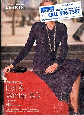 WARDS 1980 FALL-WINTER CATALOG in Very Good+/Fine condition