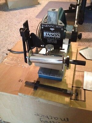 Jason Hot foil stamping machine  Model #JS400