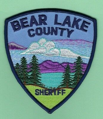 BEAR LAKE COUNTY SHERIFF's OFFICE PATCH ~ IDAHO ~ BEAUTIFUL ARTWORK AND COLORS