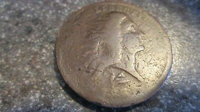 RARE 1793 FLOWING HAIR WREATH LARGE CENT,LETTERED EDGE ,VG cond. BV $4750