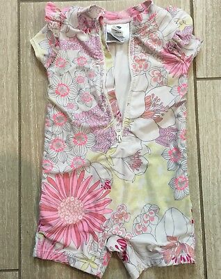 Sz 18-24 Months OLD NAVY Baby One Piece Rash Guard SWIMSUIT