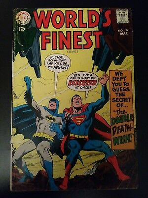March 1968  DC Comics World's Finest #174: Superman Android & Batman Android