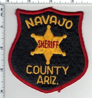 Navajo County Sheriff (Arizona) 2nd Issue Shoulder Patch - from the Early 1980's