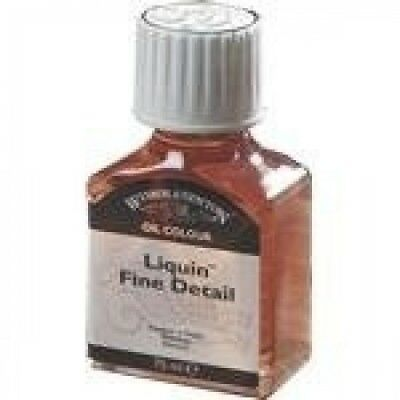 WINSOR & NEWTON LIQUIN FINE DETAIL 75ml. Shipping Included
