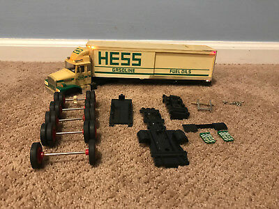 Huge Lot of 1987 Hess Truck Parts