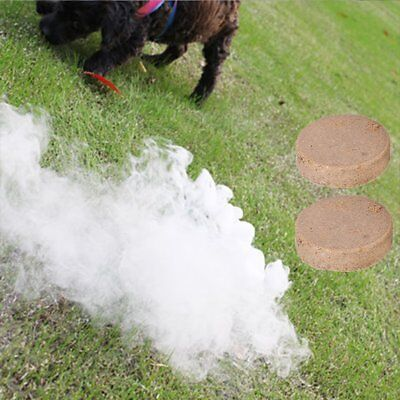 10X Smoke Cake Smoke Effect Show Round Bomb Photography Aid Toy Divine Gift UD