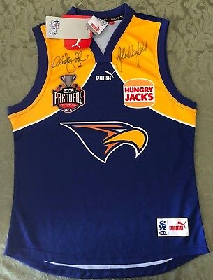 West Coast Eagles 2006 Premiership Signed Jumper