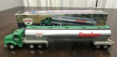 1996 SINCLAIR TOY TANKER TRUCK 1st IN SERIES w/Box Lights and Horn Work
