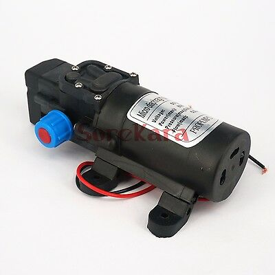 DC 24V 80W  Diaphragm Water Pump Self-priming Booster Pump Automatic Switch Y10