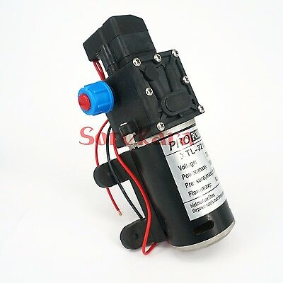 T-YB DC 12V 80W Self-priming Booster Diaphragm Pump Automatic Switch 360L/H