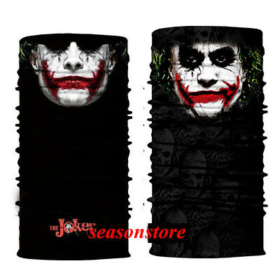 2 Pc Face Mask Sun Shield Neck Gaiter Balaclava Neckerchief Bandana Headband