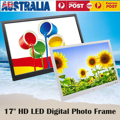 17 Inches Screen HD LED Digital Photo Frame 1440*900 Electronic Picture Album PT